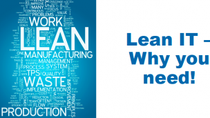 Lean IT(精益IT) –Why you need!